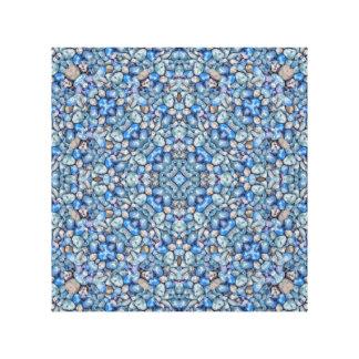 Adornado de lujo geométrico impresión en lienzo