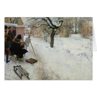 Adorno Åsögatan del invierno Tarjeta