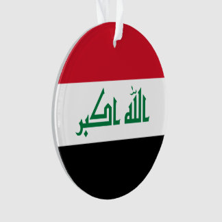 Adorno Bandera de Iraq