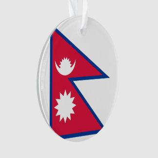 Adorno Bandera de Nepal