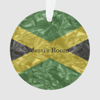 Adorno Bandera jamaicana - arrugada