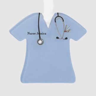 Adorno coleccionable personalizado de la enfermera