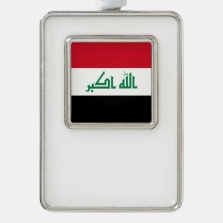 Adorno Con Marco Bandera de Iraq