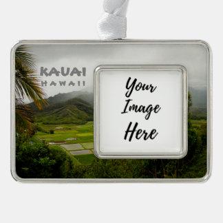 Adorno Con Marco Fotografía del paisaje de Kauai Hawaii