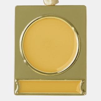 Adorno Con Rótulo Dorado El clr del oro de la plata del ornamento de la