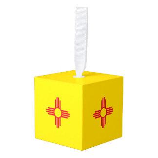 Adorno Cúbico Gráfico dinámico de la bandera del estado de New