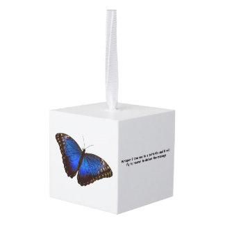 Adorno Cúbico Mariposa del susurro