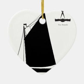 Adorno De Cerámica 1898 esquife de Norfolk - fernandes tony