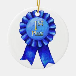 Adorno De Cerámica 1r Ponga el medallón de la cinta