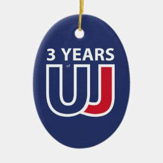 Adorno De Cerámica 3 Years Of Union J ack