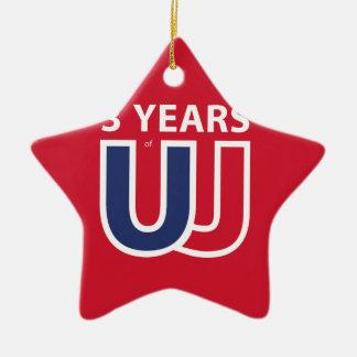 Adorno De Cerámica 3 Years of Union Jack