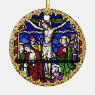 Adorno De Cerámica 50.o del aniversario décimo quinto del sacerdote