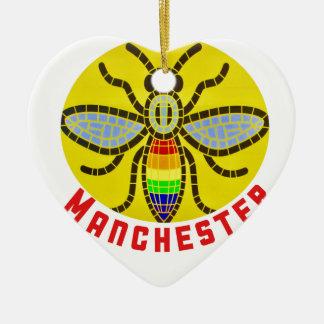 Adorno De Cerámica Abeja de Manchester