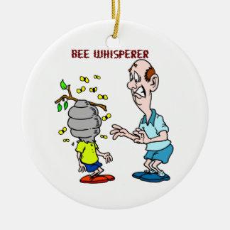 Adorno De Cerámica Abejorro del Whisperer de la abeja de los amantes