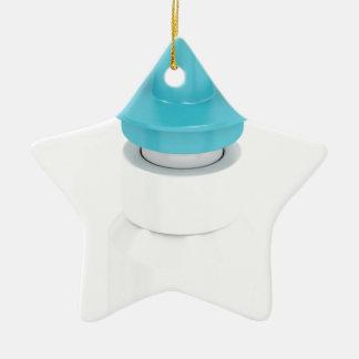 Adorno De Cerámica Aerosol nasal en blanco