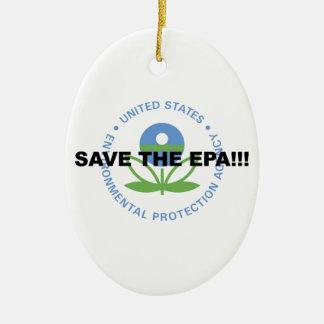 Adorno De Cerámica Ahorre el EPA
