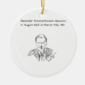 Adorno De Cerámica Alexander Konstamtinovich Glazunov 1918