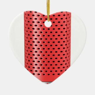 Adorno De Cerámica Altavoz elegante rojo