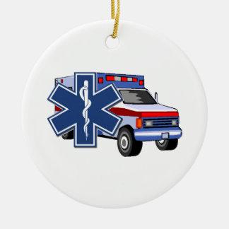 Adorno De Cerámica Ambulancia del ccsme
