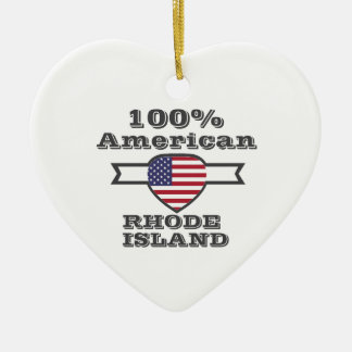 Adorno De Cerámica Americano del 100%, Rhode Island