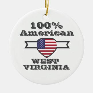 Adorno De Cerámica Americano del 100%, Virginia Occidental