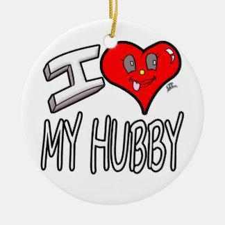 Adorno De Cerámica Amo a mi marido