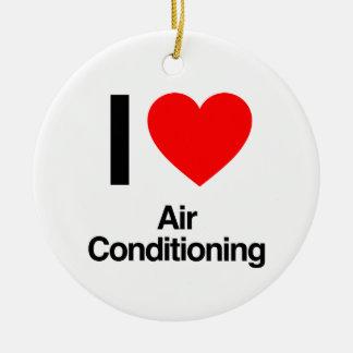 Adorno De Cerámica amo el aire acondicionado