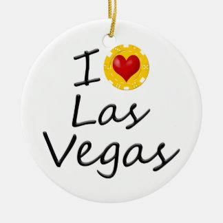 Adorno De Cerámica Amo Las Vegas