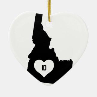 Adorno De Cerámica Amor de Idaho