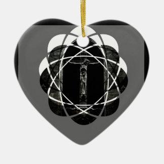 Adorno De Cerámica amor de la crucifixión