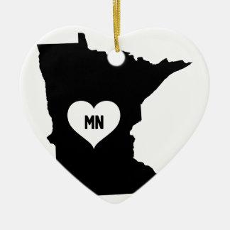 Adorno De Cerámica Amor de Minnesota