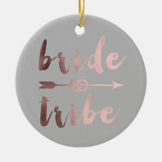 Adorno De Cerámica anillos de bodas color de rosa elegantes de la