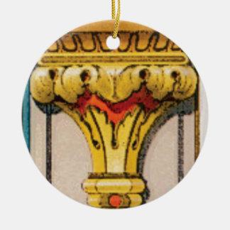 Adorno De Cerámica antorcha de oro de la gloria