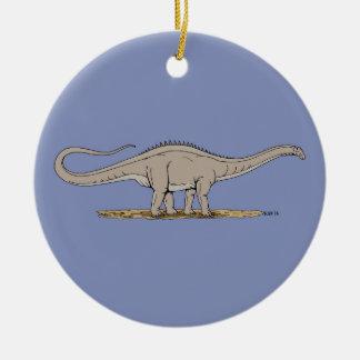 Adorno De Cerámica Apatosaurus