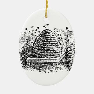 Adorno De Cerámica Apicultura de las abejas de la miel de la colmena