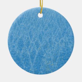 Adorno De Cerámica árbol azul