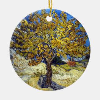 Adorno De Cerámica Árbol de la mora de Vincent van Gogh