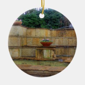 Adorno De Cerámica Arboreto de Dallas y entrada de los jardines