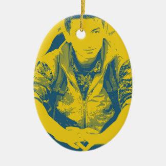 Adorno De Cerámica Arte 4 del soldado 3 de YPG