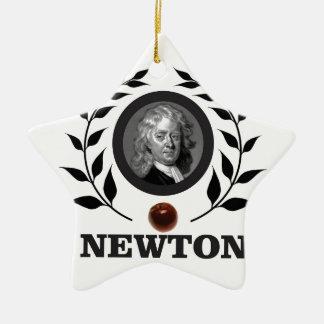 Adorno De Cerámica arte del neutonio de la manzana