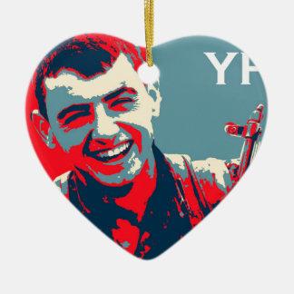 Adorno De Cerámica Arte kurdo 2 del combatiente 2 de YPG