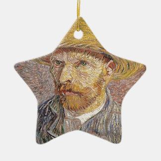 Adorno De Cerámica Autorretrato de Van Gogh