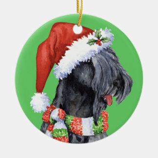 Adorno De Cerámica Azul feliz Terrier de Howliday Kerry