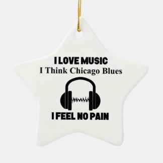 Adorno De Cerámica Azules de Chicago