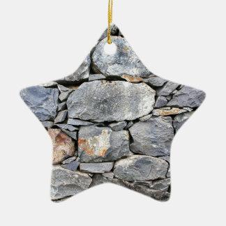 Adorno De Cerámica Backgound de piedras naturales como pared