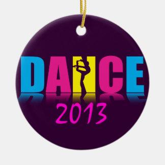 Adorno De Cerámica Bailarín personalizado de la danza