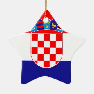 Adorno De Cerámica ¡Bajo costo! Bandera croata