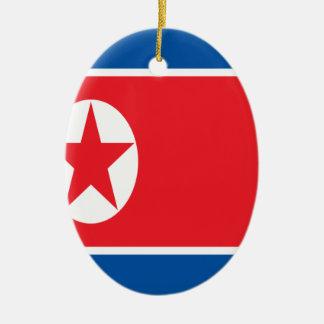 Adorno De Cerámica ¡Bajo costo! Bandera de Corea del Norte