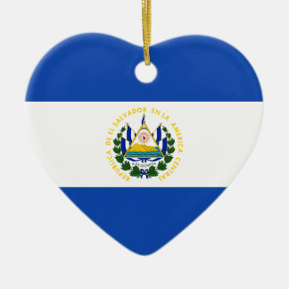 Adorno De Cerámica ¡Bajo costo! Bandera de El Salvador