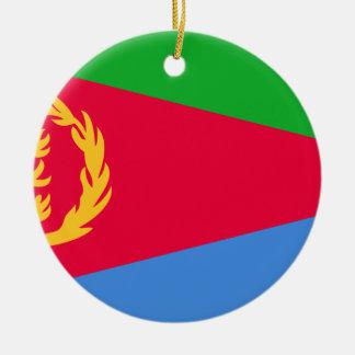 Adorno De Cerámica ¡Bajo costo! Bandera de Eritrea
